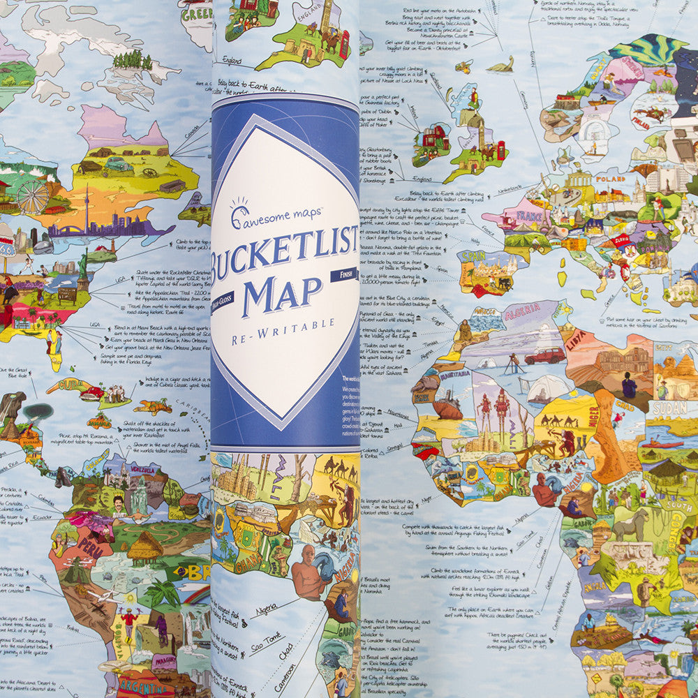 BucketList Map