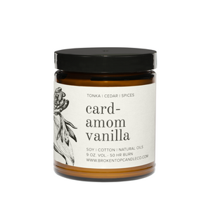 Botanical Scented Soy Wax Candle