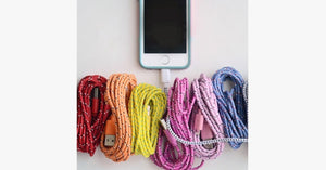 10ft ChargeSync Braided Cable for iPhone and iPad - FREE SHIP DEALS