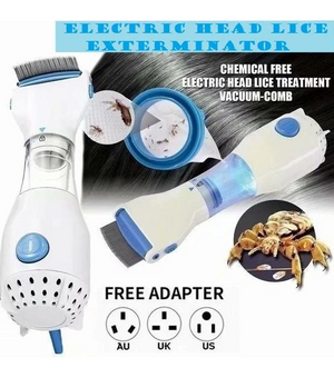 Automatic Electric Head Lice Eliminator