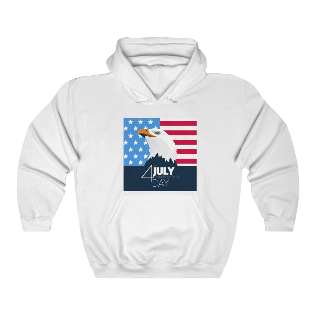 USA Eagle Independence Day Hoodie