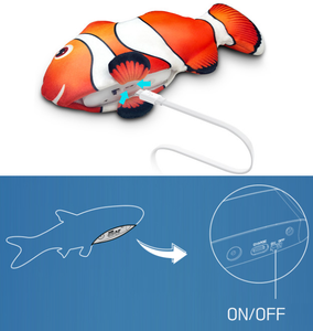 Vibrating Interactive Fish Toy