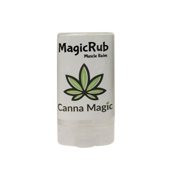 Canna Magic 300mg CBD Muscle Rub Balm 15ml - Shark Vapes Limited