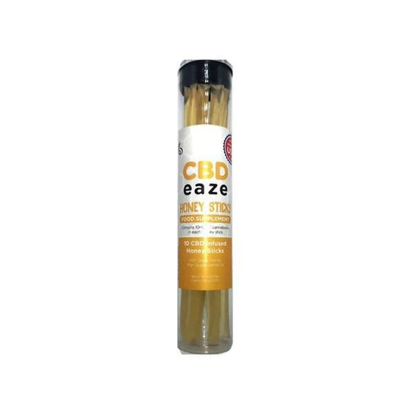 CBD Eaze 100mg CBD Honey Sticks - Shark Vapes Limited