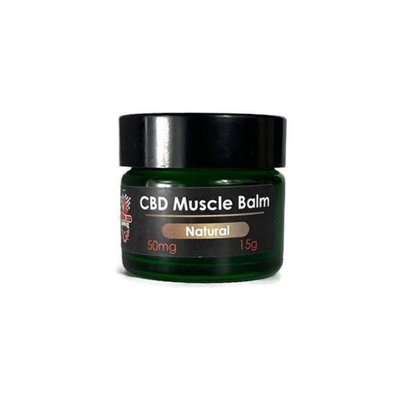 Ekow Natural CBD Muscle Balm 50MG 15G - Shark Vapes Limited