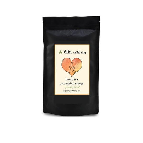 Êlin Well:being 10mg CBD Hemp Tea 30g - Passionfruit Orange - Shark Vapes Limited