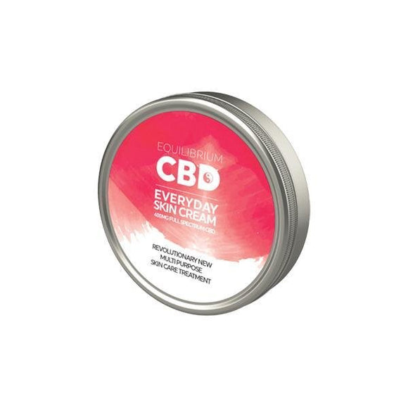 Equilibrium CBD Sports Recovery Balm 400mg 60ml - Shark Vapes Limited