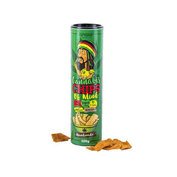 Euphoria Chips Of Mind Cannabis - Shark Vapes Limited