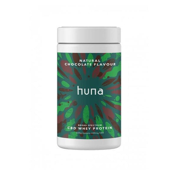Huna Labs 600mg CBD Whey Protein Powder 625g - Shark Vapes Limited