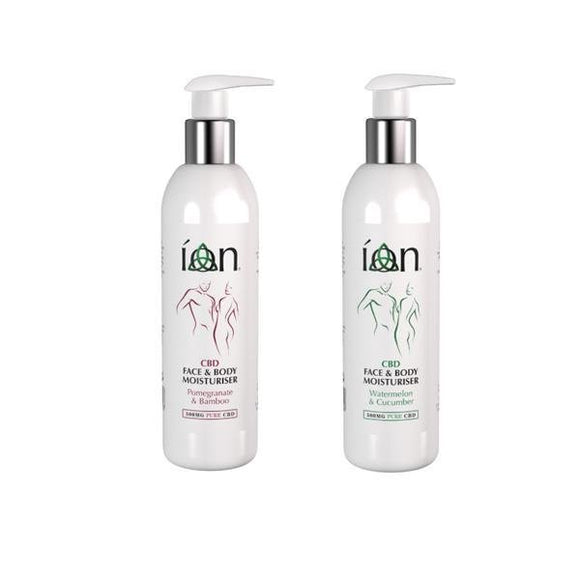 ION Pure CBD Face & Body Moisturiser 500mg CBD 200ml - Shark Vapes Limited
