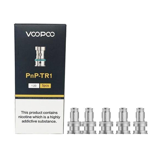 Voopoo PnP Replacement Coils TR1 / TM2 - Shark Vapes Limited
