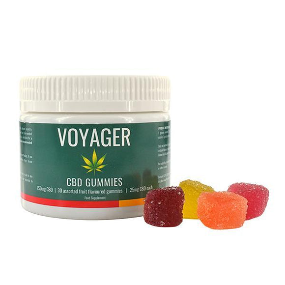 Voyager 750mg CBD Gummies - Shark Vapes Limited