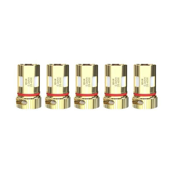 Wismec WV Replacement Coils 0.3ohm Mesh/ 0.8ohm WV01 - Shark Vapes Limited
