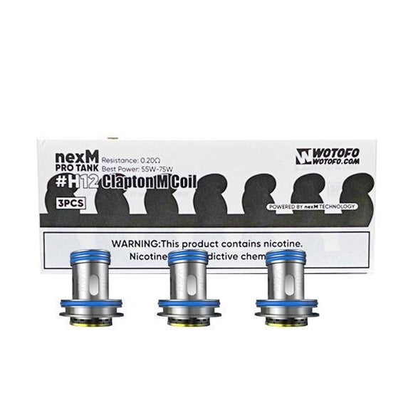 Wotofo Replacement Coils for nexMesh Pro Tank - #H12 /#H13/ #H15 - Shark Vapes Limited