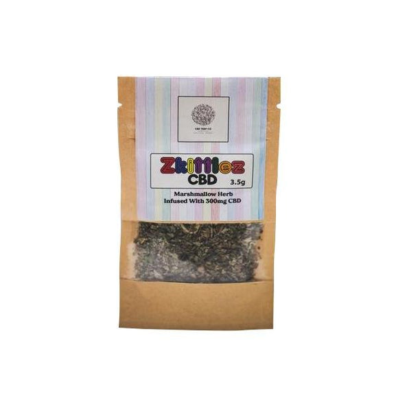 Zkittlez 300mg CBD Infused Marhmallow Herb Tea 3.5g - Shark Vapes Limited