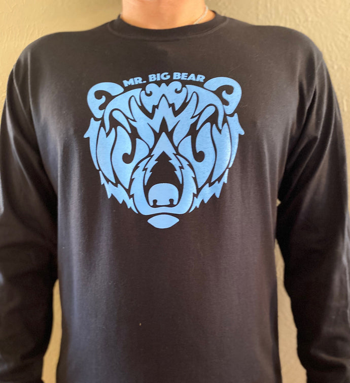 Mr Big Bear - Blue Logo