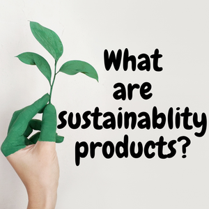 What are sustainability products?