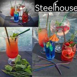 Reusable Stainless Steel Straws Pack Of 10
