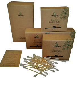 A collection of 800 Bamboo Cotton Buds in Boxes