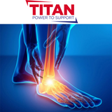 info graphics of ankle pain