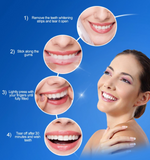 How to use teeth whitening strips