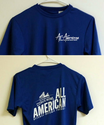 2015 Bowl Blue Performance Tee