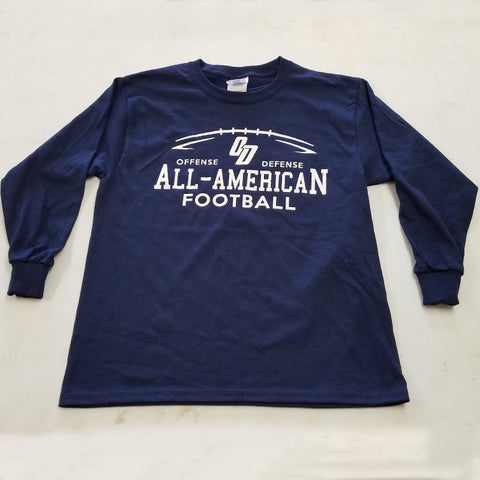 2017 All-American Navy Long Sleeve Tee