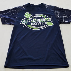2017 All-American Bowl Navy Shock short sleeve