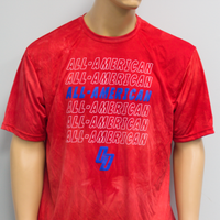 TIE DYE ALL-AMERICAN DRY FIT SHIRT