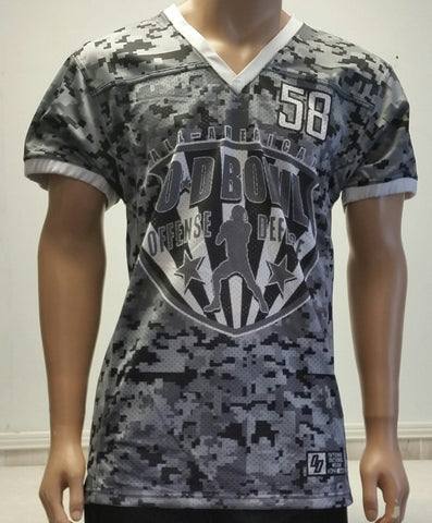Graphite Digital Camo Bowl Jersey