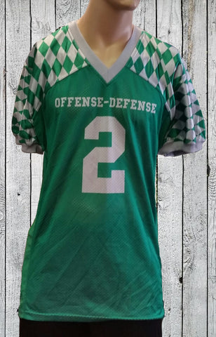 Green Diamonds '14 jersey