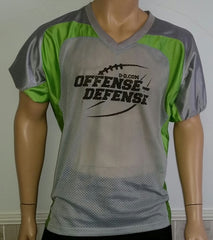 O-D Grey and Green Practice Jersey