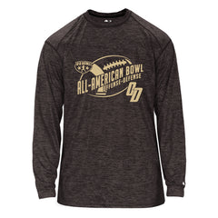 NOLA longsleeve tonal black and gold