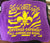 NOLA purple and yellow towel