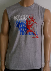 Offense Offense Defense Defense Football - Sleeveless