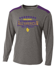 Heather Purple Tourney Long Sleeve