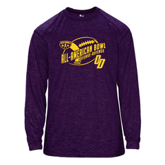 NOLA purple tonal long sleeve