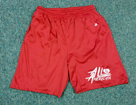 Bowl Red Youth Shorts