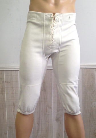 Slotted Football Pants - White
