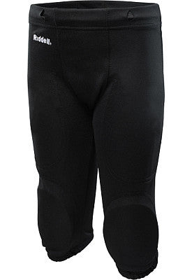 Slotted Polyester Practice Pants - Black