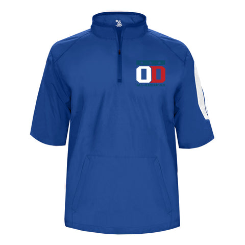 Royal Shortsleeve Sideline Pullover - Embroidered