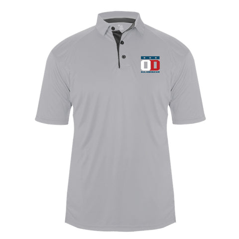 Silver Softlock Polo - Embroidered