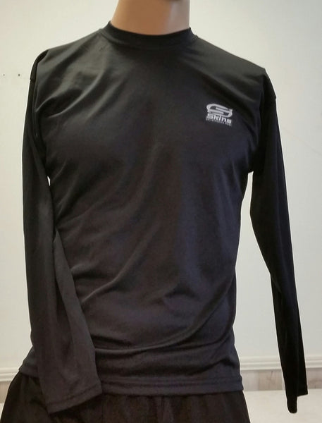 Skins long sleeve - black