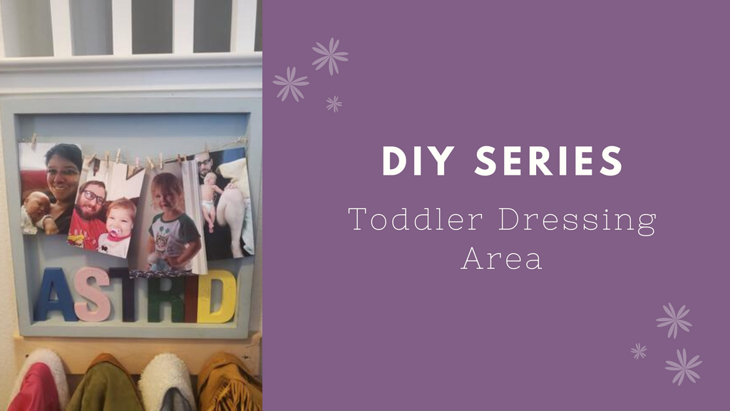 Designing a dressing area for your toddlers