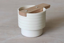 Load image into Gallery viewer, Sugar Container - Beech Lid