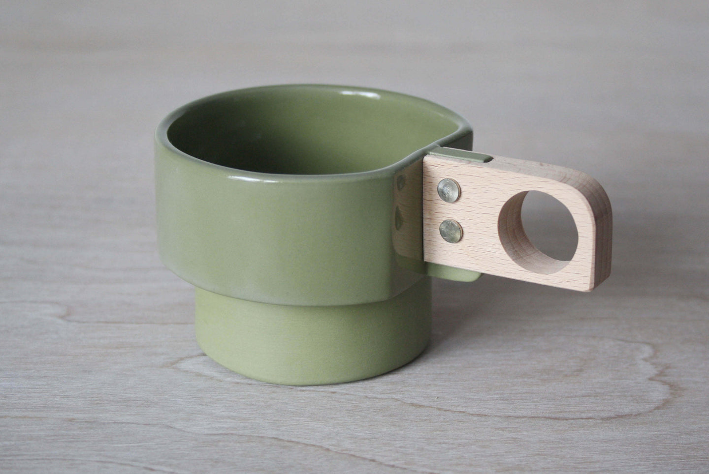 Small Cup - Beech Handle