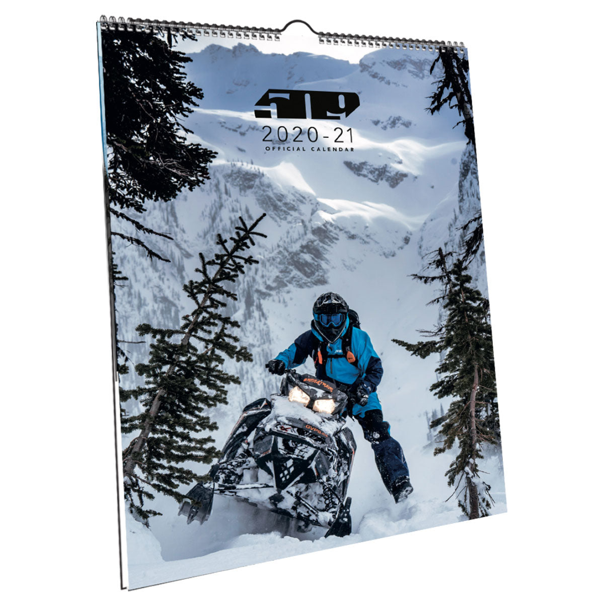 Snowmobile Wall Calendar