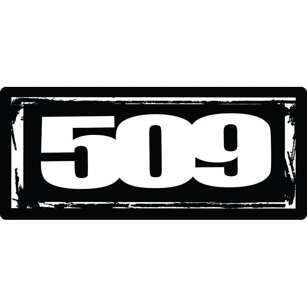 509 Logo Sticker