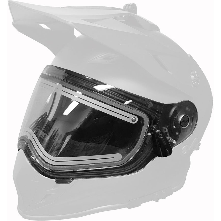 Ignite Dual Shield for Delta R3 Carbon Fiber Helmets