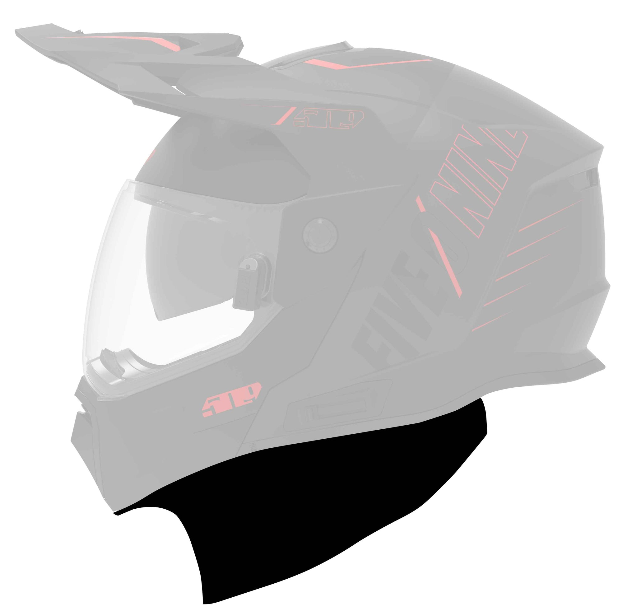 Arctic Chin Curtain for Delta R3 Carbon Helmets